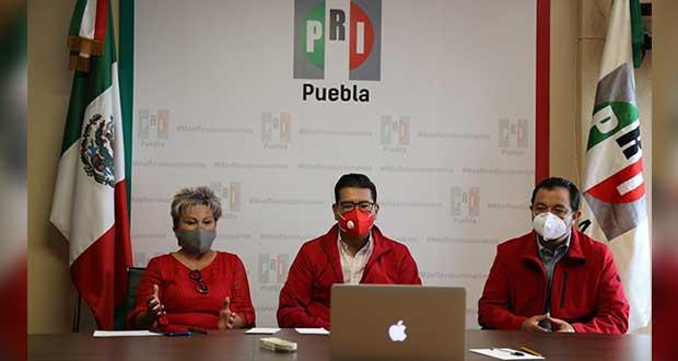 PRI no descarta ir en alianza con Antorcha o PAN en Puebla para 2021