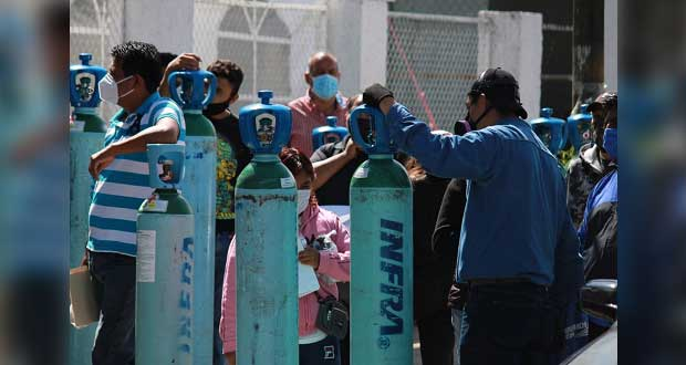 Comuna aplaza entrega de apoyos para oxígeno; aún recibe solicitudes