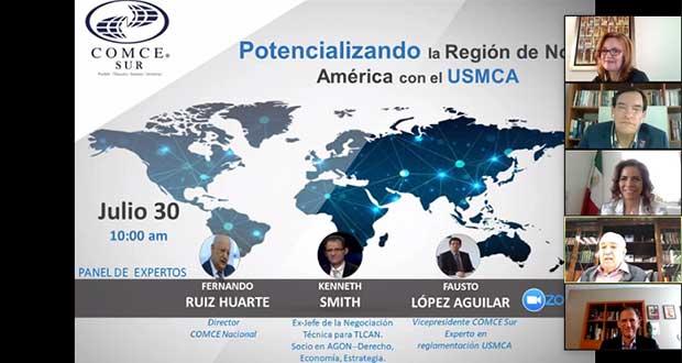 Puebla, con gran atractivo para exportación con T-Mec: Economía