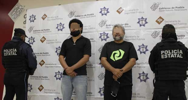 Policía Estatal detiene a dos en San Pedro por falsificar documentos