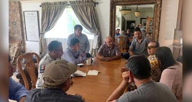 SSPC informa a familia avances tras asesinato de 9 en Sonora