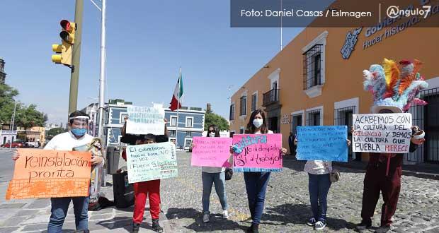 Exempleados de Cultura acusan despido injustificado de 28; exigen restitución