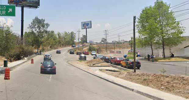 SMT interviene ante confrontación de taxis irregulares en la Atlixcáyotl