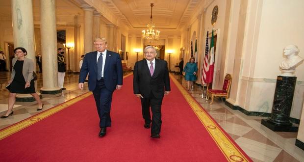 """""""Fallaron pronósticos de reunión, somos amigos"""": AMLO y Trump"""