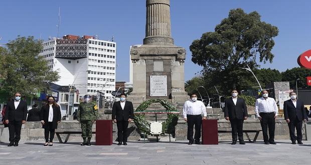 Gobierno estatal conmemora aniversario luctuoso de Benito Juárez