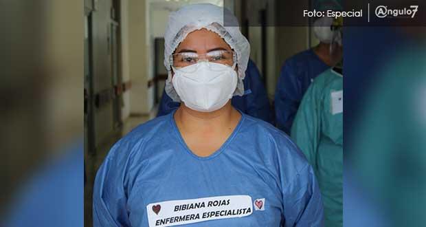 Enfermeros, la familia que pacientes con Covid no tienen al lado: Bibiana