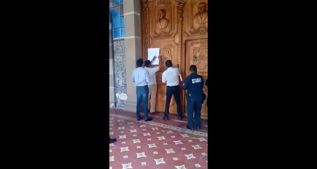 Congreso notifica a Cabildo de Tehuacán sobre su disolución