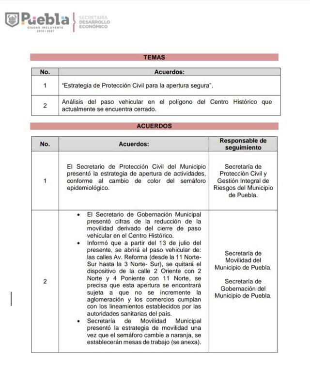 Comuna planea reabrir 3 vialidades del CH a partir del 13 de julio