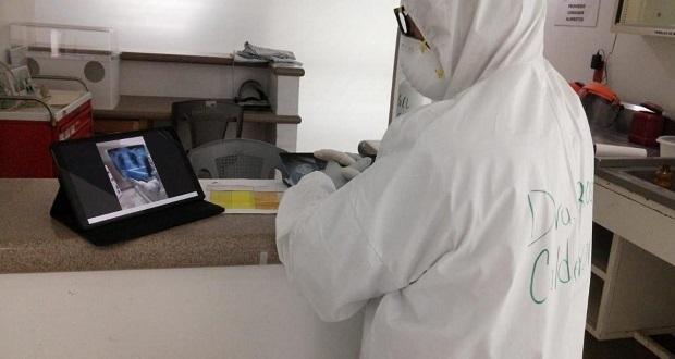 Con herramientas virtuales, gobierno de Puebla combate pandemia