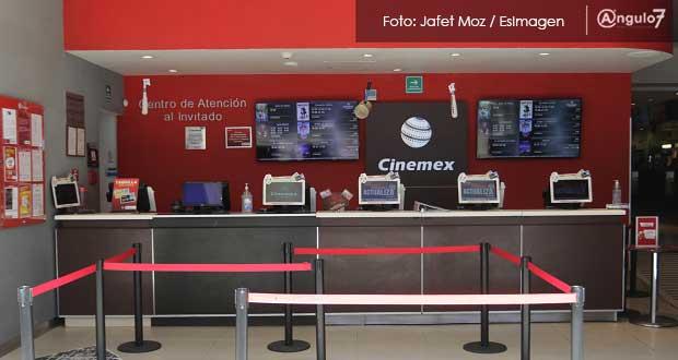 Acusan que Cinemex de Plaza Dorada no tiene recursos para pagar salarios