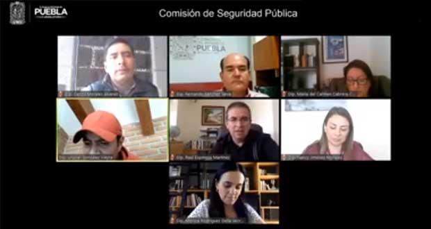 Diputados avalan que SSP dé insumos a policías para prevenir Covid
