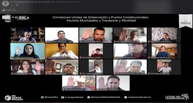 En comisiones, aprueba iniciativa de Barbosa para regular propaganda electoral
