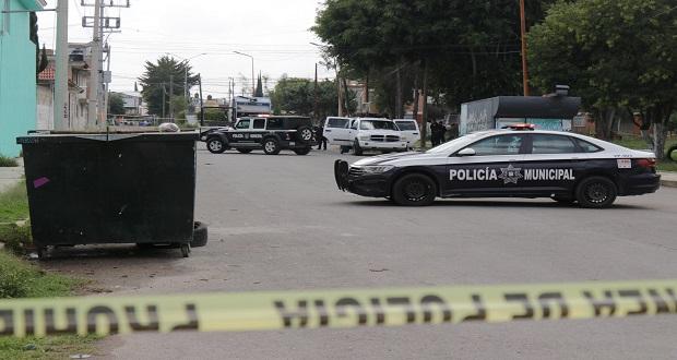 En fin de semana, hallan 3 cuerpos en Puebla; uno, con advertencia de limpia
