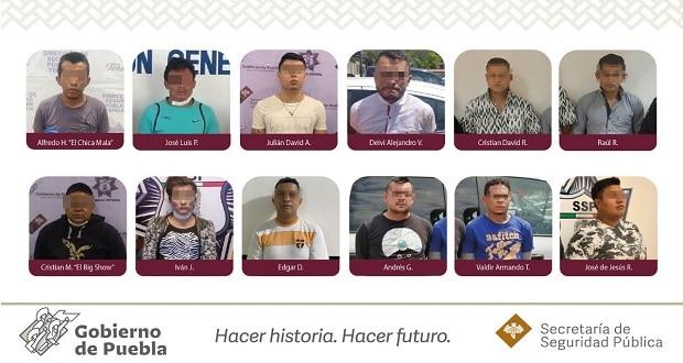 Cae narcomenudista en Texmelucan y debilitan a 16 bandas de Tehuacán