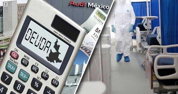 Gobierno aporta 194.6 mdp a deuda en 1S; es 93% de lo usado en equipo Covid