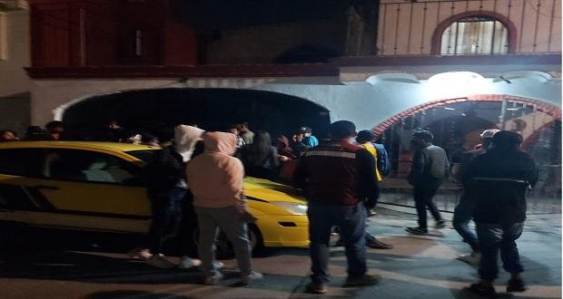 Ayuntamiento desaloja fiesta y clausura dos bares clandestinos