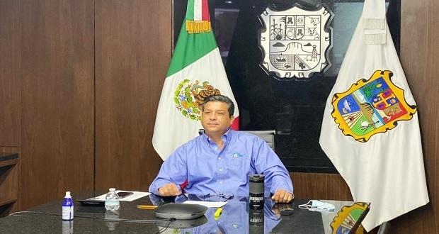Cabeza de Vaca, gobernador de Tamaulipas da positivo a Covid-19