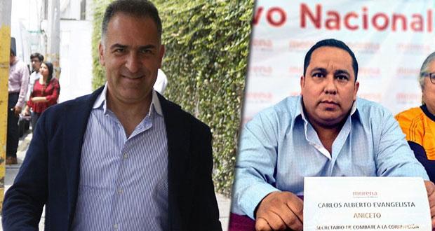 IEE acredita salida de Bracamonte como delegado de Morena en Puebla