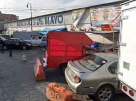"""""""Líder"""" de mercados 5 de Mayo y Defensores desacata a Comuna, acusan"""