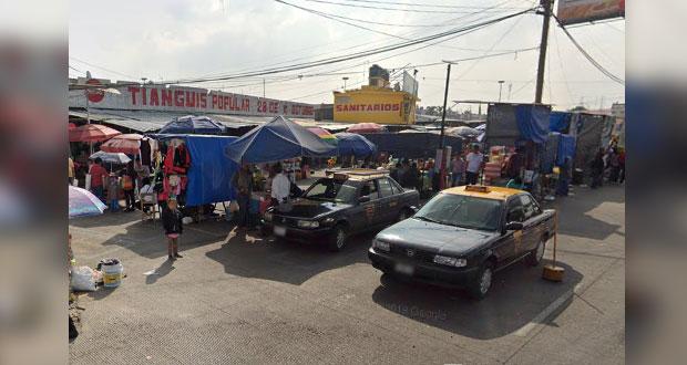 Intentan linchar a presunto delincuente en el Mercado Hidalgo