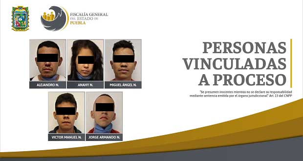 """Vinculan a 5 miembros de """"La Unión Tepito"""" detenidos en Palmar"""