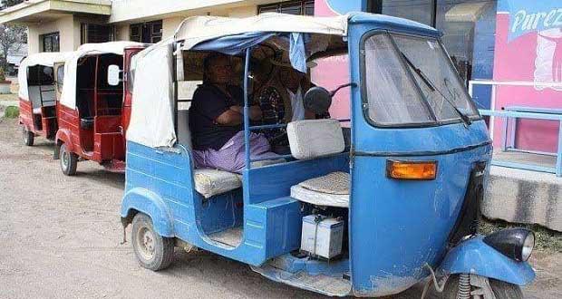 Transportistas de Antorcha en Chiautla temen prohibición de mototaxis