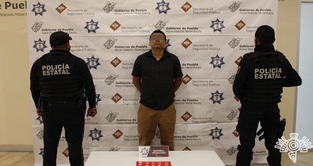SSP detienen a presunto narcomenudista en Infonavit Independencia