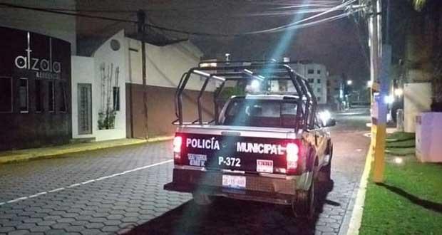 Ssptm fortalece supervisión y vigilancia en San Andrés Cholula