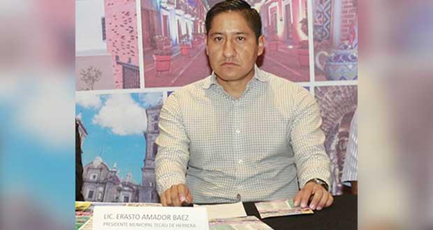 Edil de Tecali comparecerá en Congreso por no aceptar recomendación de la CDH