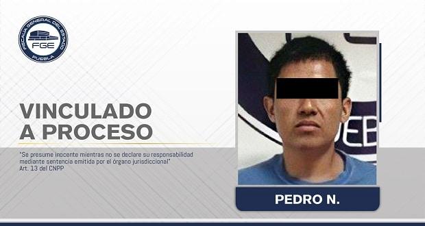 Vinculado a proceso presunto responsable de robo en Chietla
