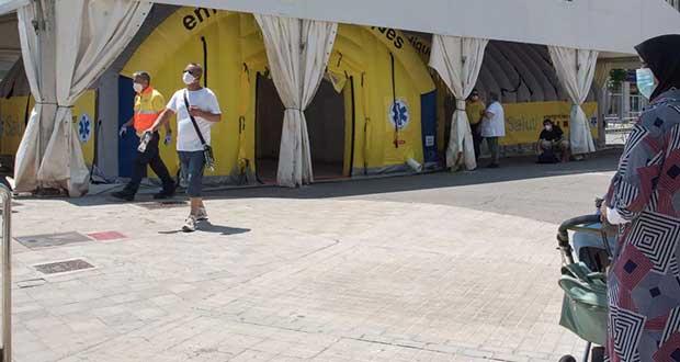 Ordenan reconfinamiento de 200 mil personas en España