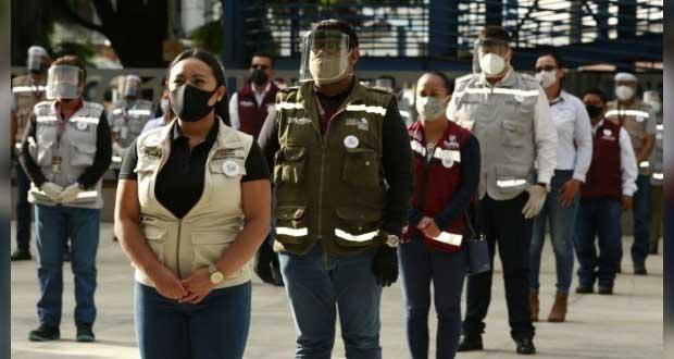 Reconocen a más de 200 funcionarios de la ciudad por labor ante Covid