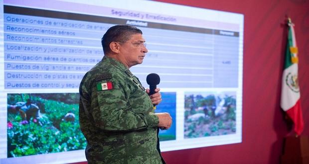 Sedena ha desplegado 47 mil 864 militares para atender contingencia