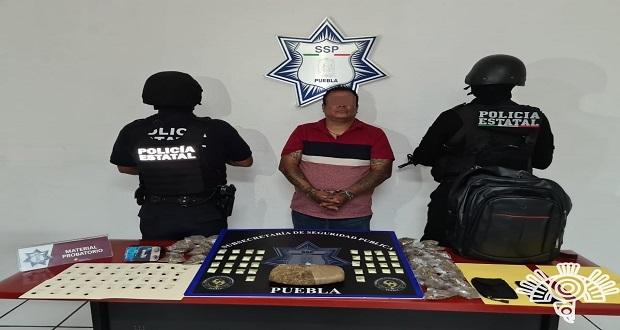 """Detienen a """"El Caníbal"""" por extorsión y narcomenudeo en la capital"""