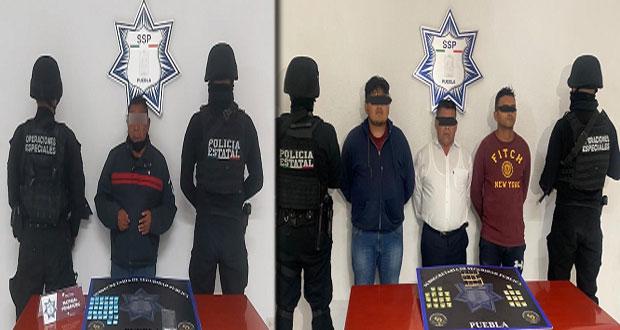 """SSP detiene a tres en """"la otra Maldita Vecindad"""" y a uno con droga"""