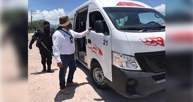 Por sobrecupo, SMT infracciona a 54 unidades de transporte en julio