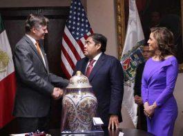 EU y Puebla dialogarán para explorar oportunidades dentro de T-MEC