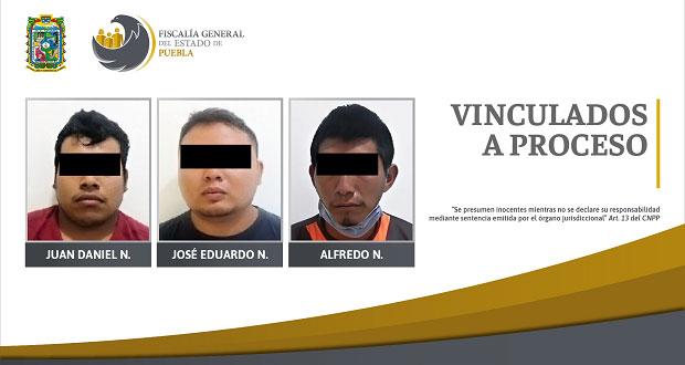 FGE vincula a proceso a tres por intento de homicidio de agentes