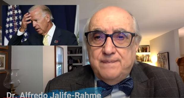 Discurso de Biden, maniqueo y sin programática por división: Jalife