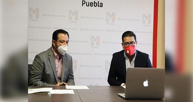 Para regreso a clases, PRI en Puebla propone apoyos a familias