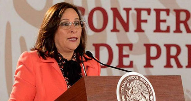 Rocío Nahle, secretaria de Energía, da positivo a prueba de Covid-19.