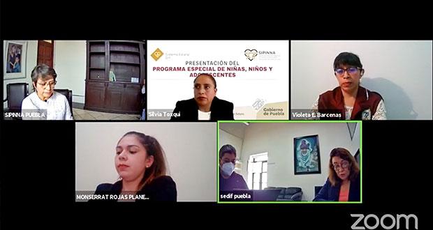 En Puebla, sociedad deben asumir protección de menores: Sedif