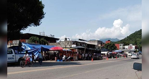 Segob revisará falta de medidas por Covid en ambulantaje de Xicotepec
