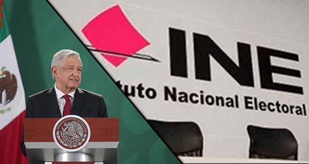AMLO ve bien que INE asuma encuesta en Morena ante desacuerdo interno