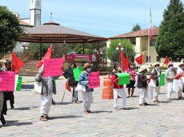 Pueblo no abandonará a sus líderes, asegura Antorcha en Zacatlán