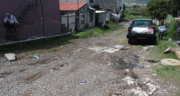 Vecinos de colonia Cuauhtémoc, en riesgo por inundaciones: Antorcha