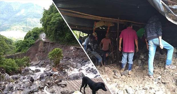 Congreso local pide a trabajadores apoyar a damnificados en Tepatlán