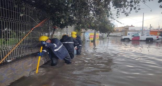 Identifica Igavim 64 colonias en Puebla capital con riesgo alto de inundación