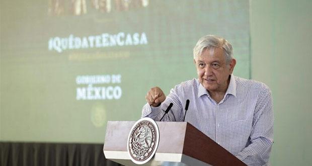 Reforma hacendaria, sólo con acuerdo para redistribuir presupuesto: AMLO