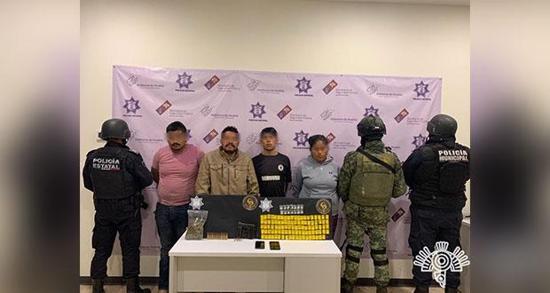 """SSP y Ejército detienen a """"El Cubano"""" en Tehuacán"""
